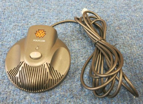 Polycom SoundStation 2 Extended Microphone Pod with Cable 2201-07155-605